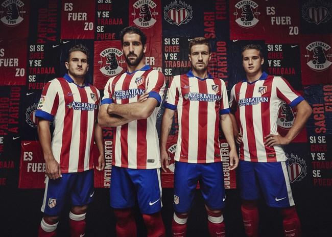Maillot Domicile Atlético de Madrid nouveau