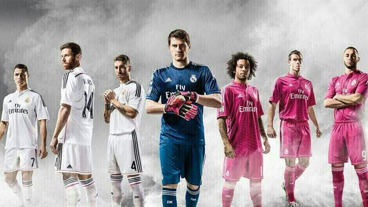 Real Madrid Voetbalshirts 2014-2015 (1)