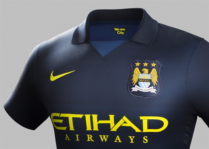 Manchester City Uitshirts 2014-2015
