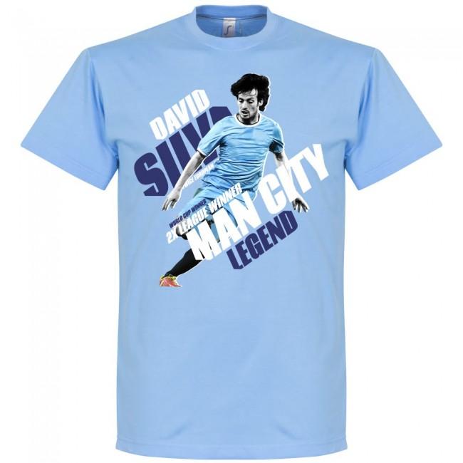 Maillot Domicile Manchester City David Silva