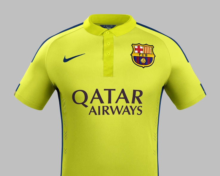 Maillot FC Barcelone third 2014-2015