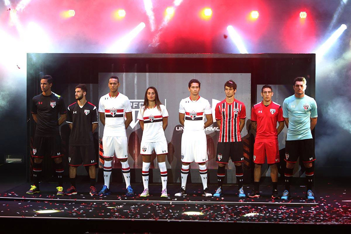 Maillots Sãoa Paulo Under Armour 2015