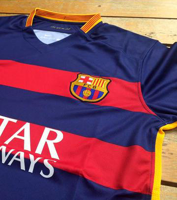 Maillot FC Barcelone 2015-2016 (1)