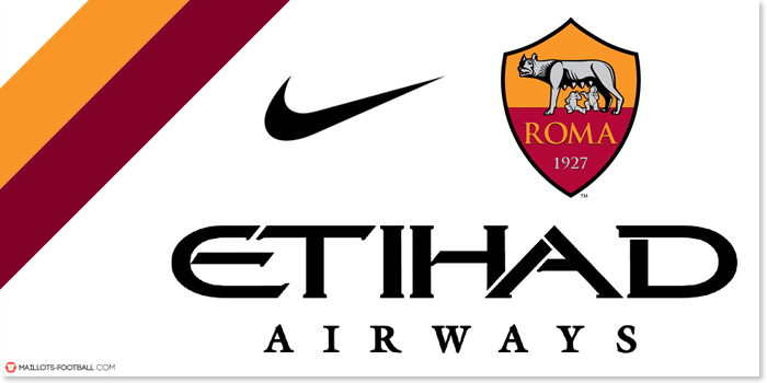 Etihad Airways sponsor AS Roma 2015-2016