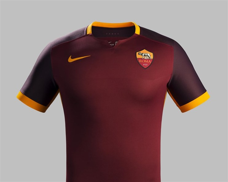 Maillot AS Roma domicile 2015-2016