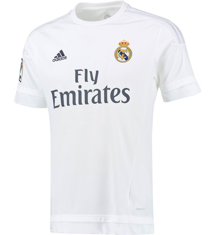 Maillot Real domicile 2015-2016 Adidas