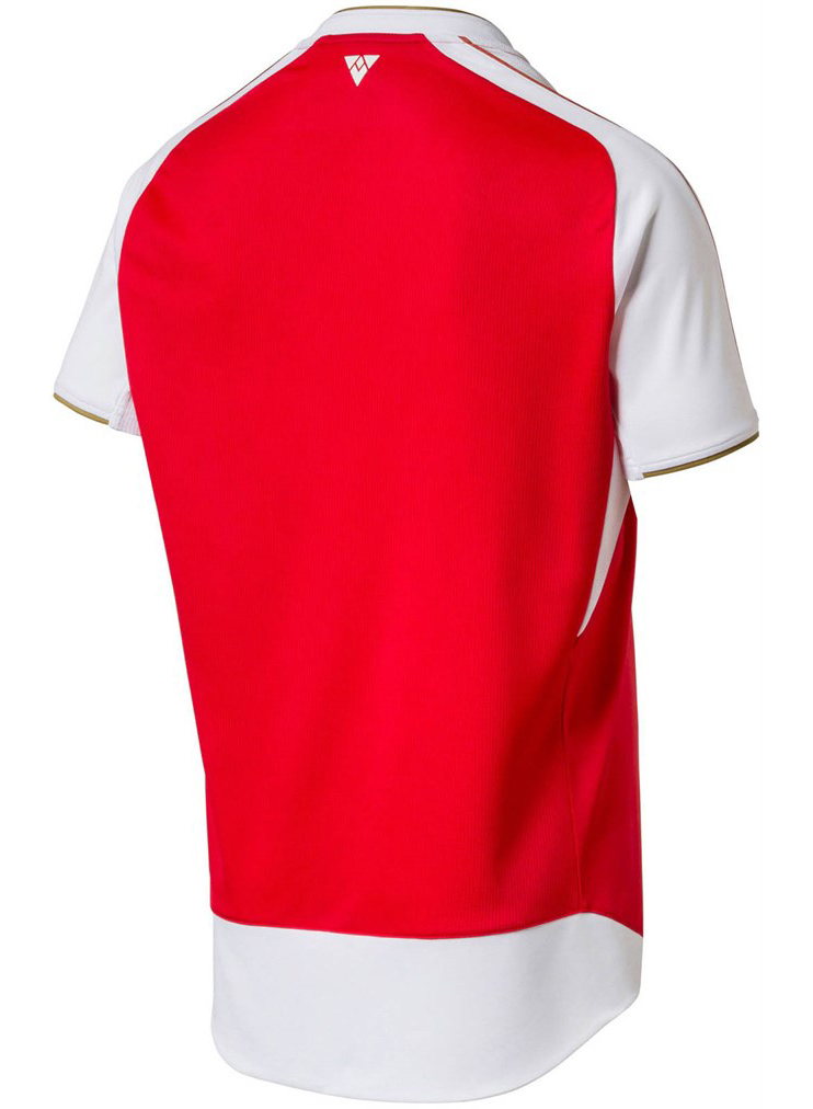 Maillot Arsenal 2015-2016 domicile dos