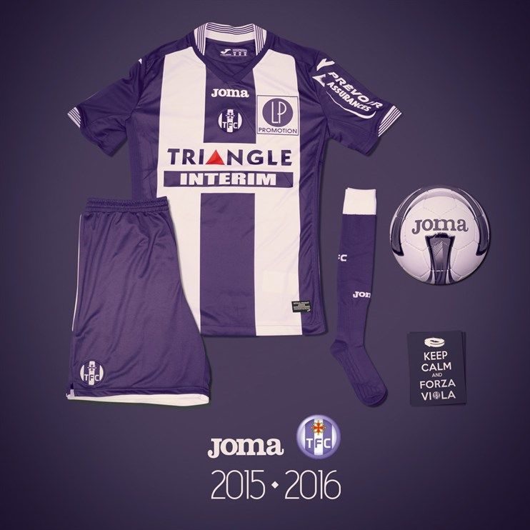 Maillot TFC Toulouse domicile 2015-2016 Joma