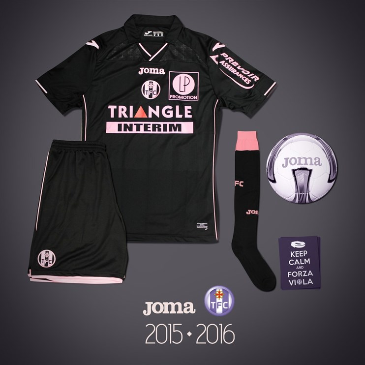 Maillot TFC Toulouse third 2015-2016 Joma