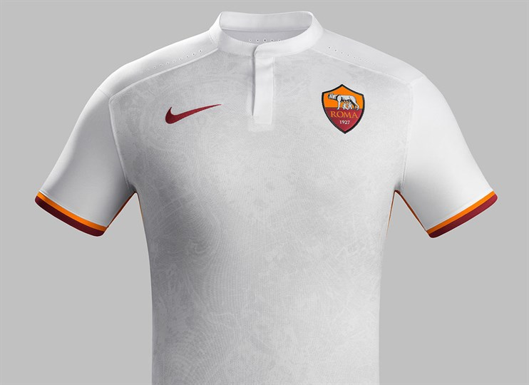 Maillot AS Roma Nike extérieur 2015-2016