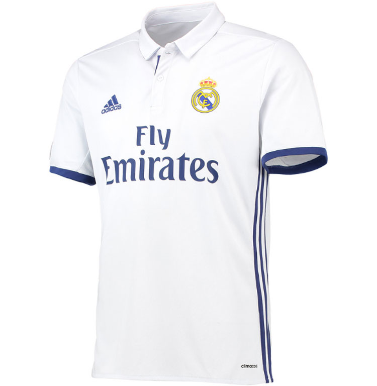 Maillot Real Madrid domicile 2016-2017