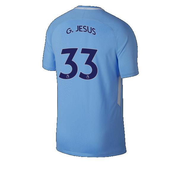 Maillot Extérieur Manchester City Gabriel Jesus