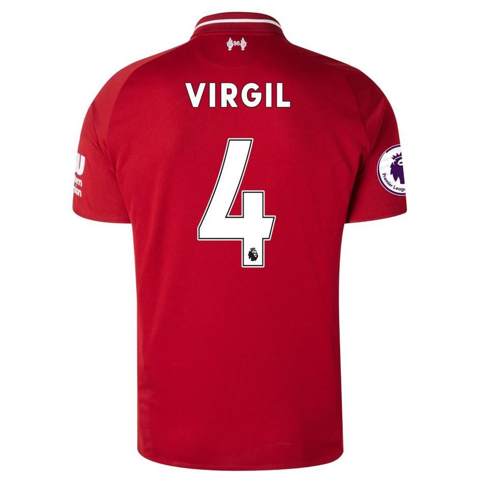 Maillot Extérieur Liverpool Virgil van Dijk