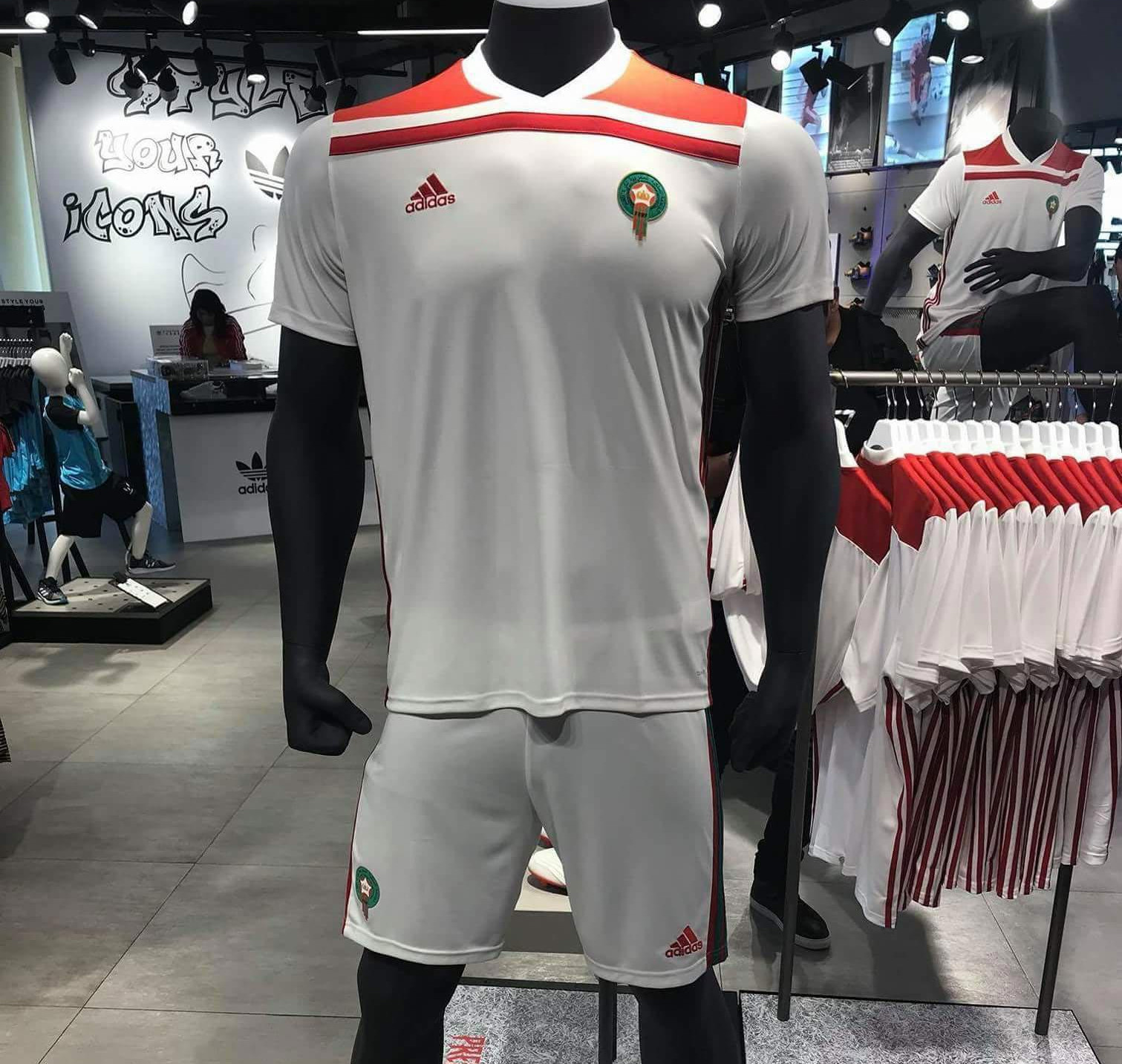 maillot maroc original adidas