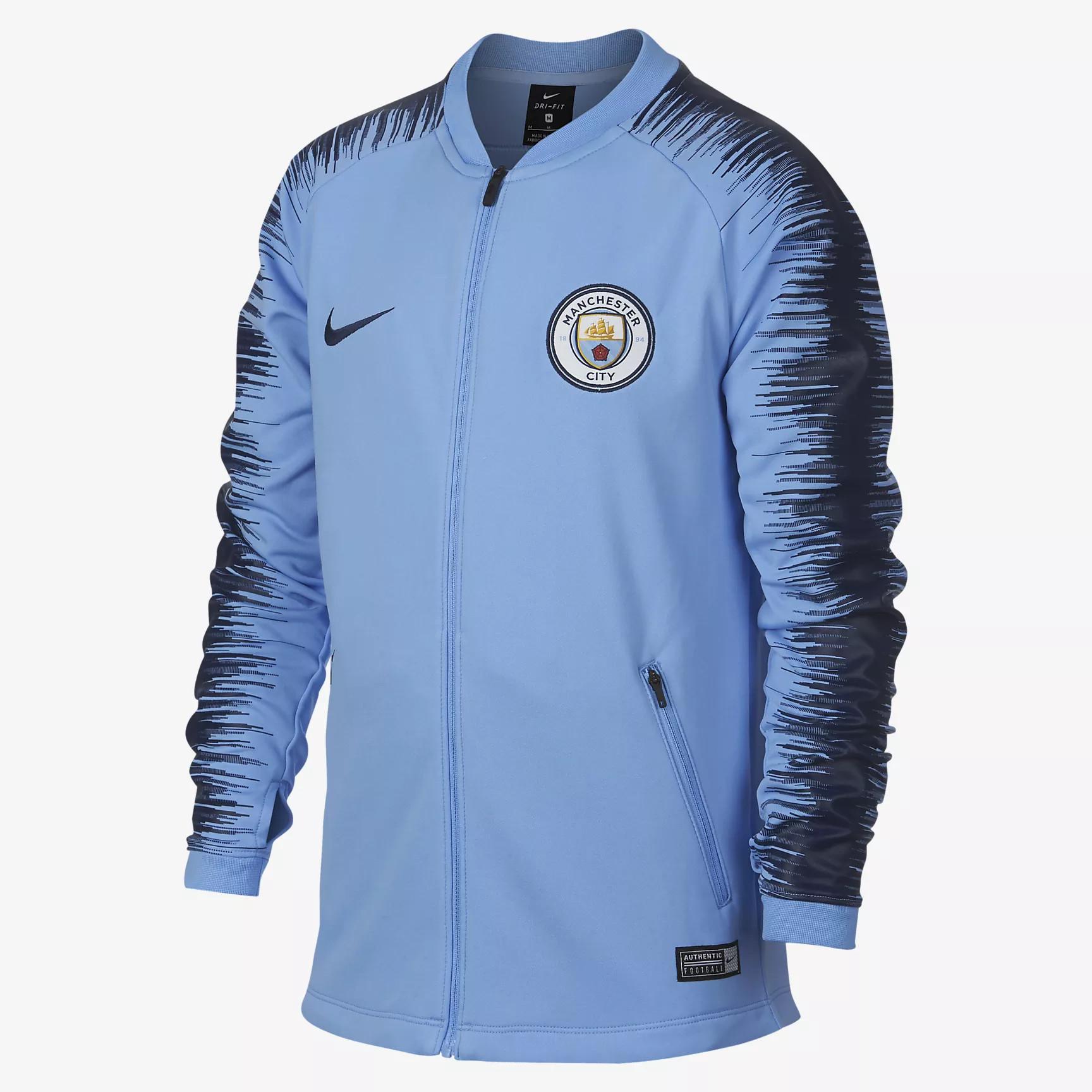 tenue de foot Manchester City gilet