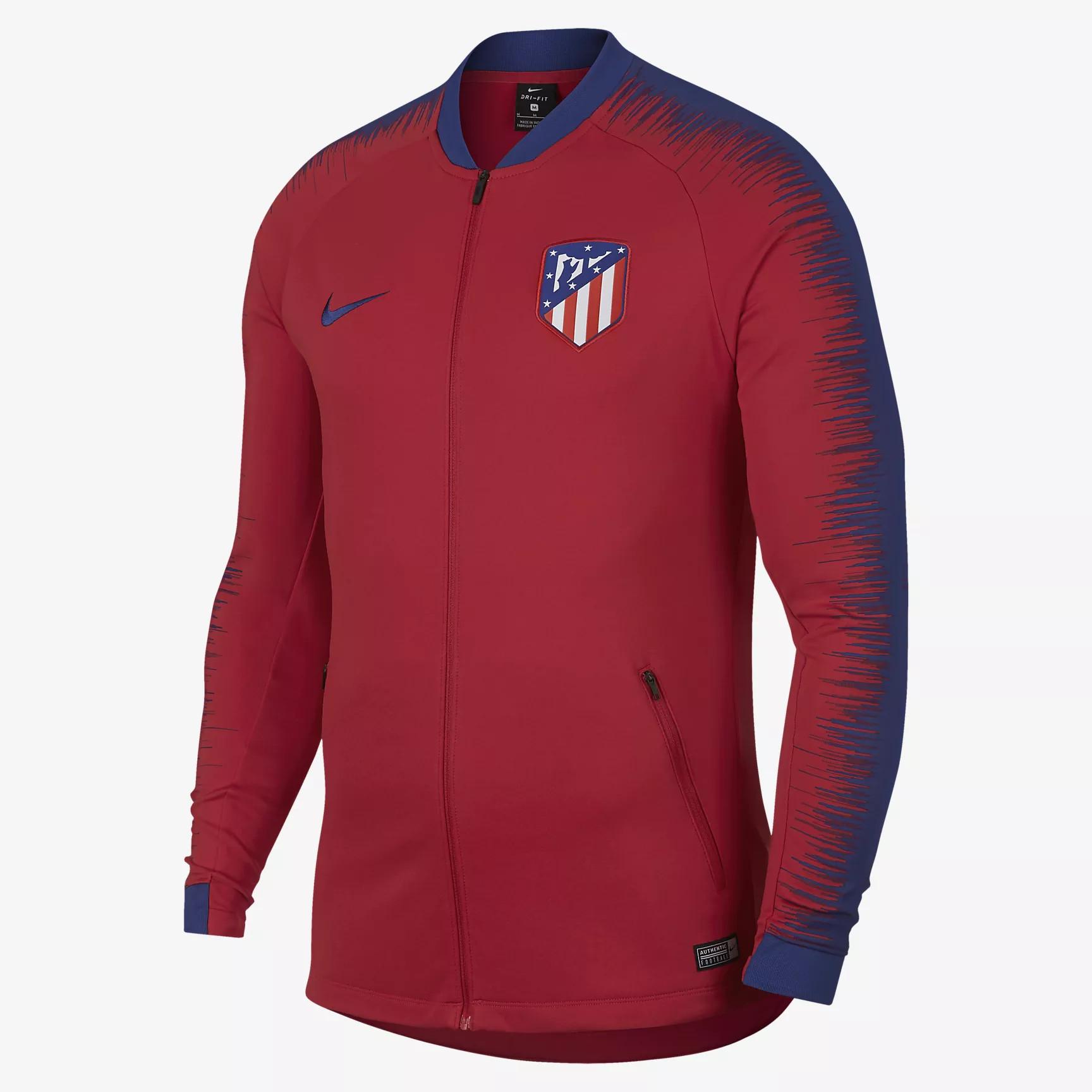 Maillot Domicile Atlético de Madrid gilet