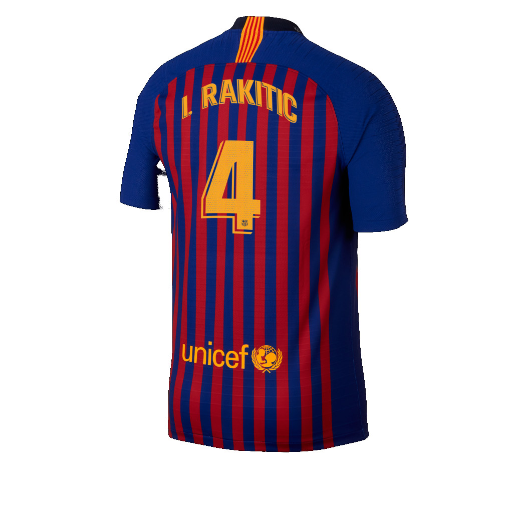 Maillot Domicile FC Barcelona I. Rakitić