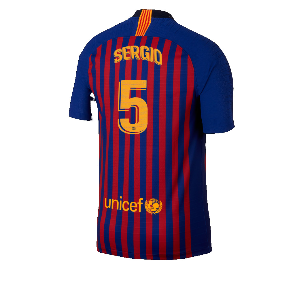 Maillot Extérieur FC Barcelona Sergio